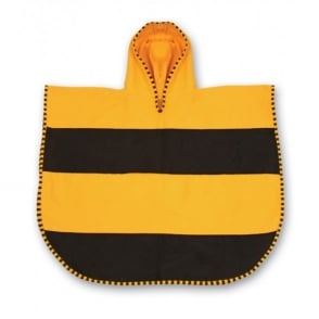 LittleLife Animal Poncho Towel Bee, quick drying ultralight towel