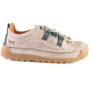 The Art Company 0590 Skyline Shoe Overland Taupe, Chunky leather lace up shoe