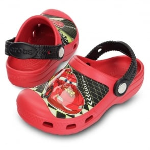 Creative Crocs Lightening McQueen Clog Red, Race around in comfort in clogs topped with Lightening