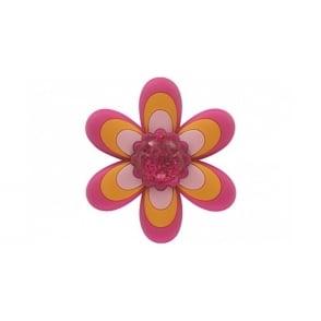 Jibbitz Cute Flower LG Fuchsia