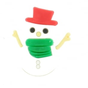 Shoe Charms Christmas Snowman