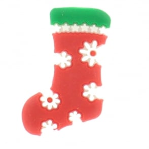 Shoe Charms Christmas Stocking