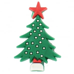 Shoe Charms Christmas Tree