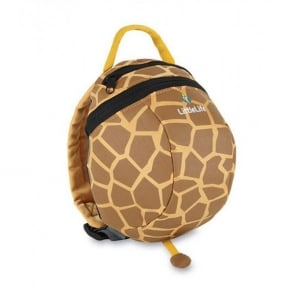 LittleLife Toddler Daysack Giraffe, kids rucksack with detachable reins!
