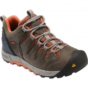 KEEN Womens Bryce WP Shitake/Arabesque, Lightweight hiking boot for worldwide excursions