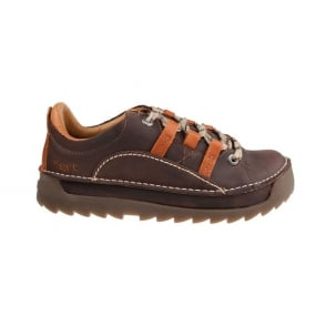 The Art Company 0590 Skyline Shoe Overland Brown Cuero, Chunky leather lace up shoe