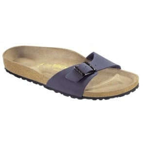 Birkenstock Madrid 040121 Navy, Popular single stap sandal