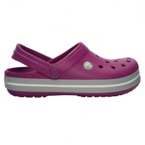 Crocs Crocband Shoe Viola/Light Grey, All the comfort of a Classic but with a Retro look