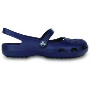 Crocs Shayna Navy, A Mary-Jane style Croslite sling back shoe