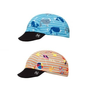 Baby Cap Buff Oceans, Protects from 98% of UV rays