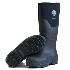 The Muck Boot Company Muckmaster Black, The original neoprene lined wellie!