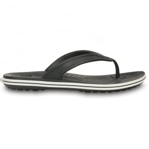 Crocband LoPro Flip Black, Crocs comfort with streamlined profile