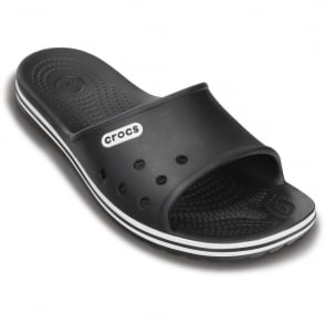 Crocs Crocband LoPro Slide Black, streamlined and lower profile slip on