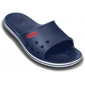 Crocs Crocband LoPro Slide Navy, streamlined and lower profile slip on