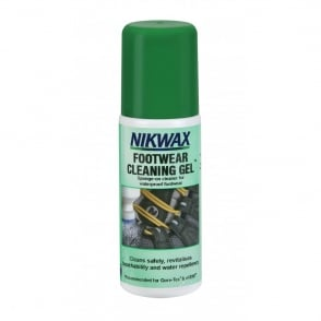Nikwax Footwear Cleaning Gel 125ml, The safe cleaner for all waterproof outdoor and sports footwear