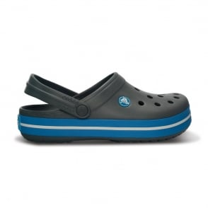 Crocs Crocband Shoe Charcoal/Ocean, All the comfort of a Classic but with a Retro look