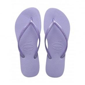 Havaianas Kids Slim Light Lilac, Slim fitting flip flop