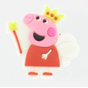 Shoe Charms Peppa Pig Fairy