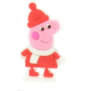 Shoe Charms Peppa Pig Winter