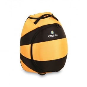 LittleLife Animal Wheelie Duffle Bee, fun suitcase for little adventurers