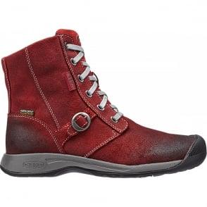 KEEN Womens Reisen Boot WP Bossa Nova, waterproof women's leather boot