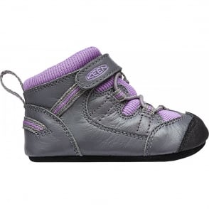 KEEN Infant Targhee Gargoyle/Purple Heart