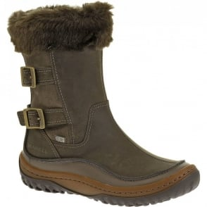 Merrell Decora Chant Falcon, waterproof leather boot with buckle detail