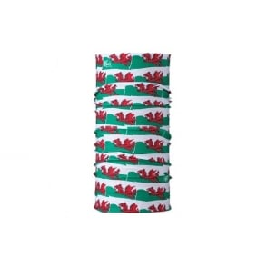 The Original Kids Buff Welsh Flag, Multifunctional head wear