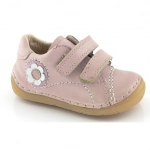 Froddo Mini Girls Velcro G2130054-1 Pink, Soft leather Toddler shoe