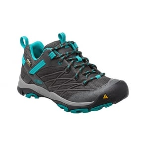 KEEN Womens Marshall WP Magnet/Capri Breeze, The perfect hiking shoe for your next best adventure in a low cut style