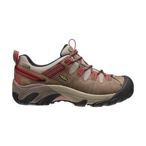KEEN Mens Targhee ll Shitake/Bossa Nova, the hiking shoe thats ready for your off-road challenges