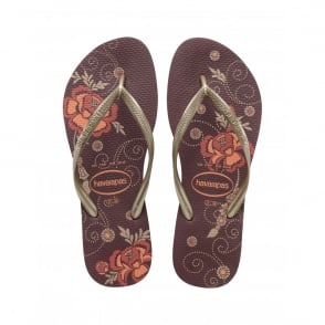 Havaianas Slim Organic Grape Wine, a colourful take on the original flip flop