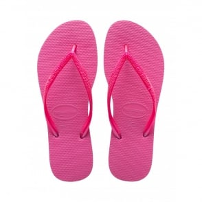 Havaianas Slim Shocking Pink, Slender Flip Flops