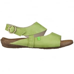 El Naturalista N447 Wakataua Sandal Green, adapts to the foot's natural shape with its comfort shaping and anatomical insoles