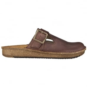 El Naturalista ND40 Clog Brown, recycled insoles with a polyurethane base that contributes towards increased comfort
