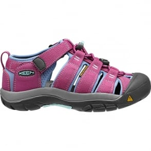 KEEN Kids Newport H2 Dahlia Mauve/Periwinkle, ideal for in and out of the water