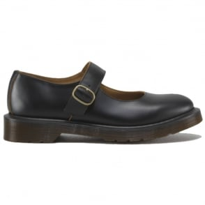 Dr Martens Adult Indica Shoe, Black, Iconic Mary Jane style DM