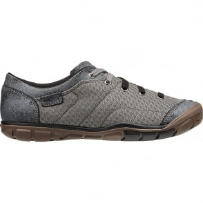 KEEN Womens Mercer Lace ll CNX Black, a cute lightweight style for pretty much everything