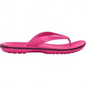 Crocs Crocband Flip Candy Pink, lightweight comfort with circulation nubs for blood flow stimulation