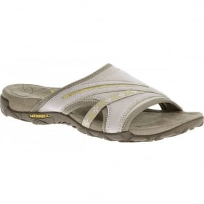 Merrell Terran Slide Silver Lining, natural flex and arch support
