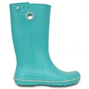 Crocs Jaunt Boot Pool, Fully molded Croslite light weight wellington boot