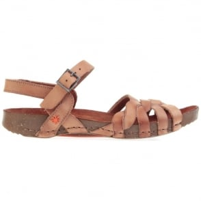 The Art Company I Breathe 0976 Sandal Tinted Cuero, leather sandal with buckle fastening