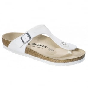 Birkenstock Gizeh White 043731, The best selling Birkie toe post
