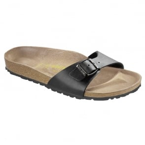 Birkenstock Madrid Black 040791, Popular single strap sandal