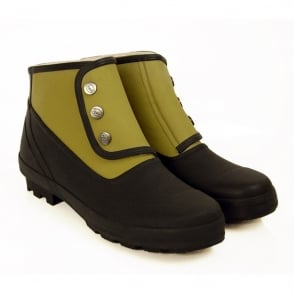 Spats Classic 2 tone Craze Black/Olive, Fully waterproof style led boot