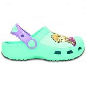 Crocs Kids Frozen Clog Pool, comfort topped with your favourite Disney Princesses!