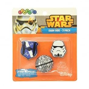 Jibbitz Star Wars Dark Side 3 Pack