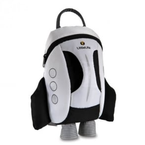 LittleLife Kids Active Grip Daysack Space Shuttle, an ideal daysack for kids learning to scoot or ride!