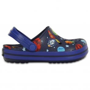 Crocs Kids Crocband Galactic, space-inspired clog