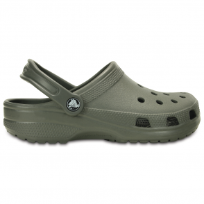 Classic Shoe Dusty Olive, Original Crocs slip on shoe
